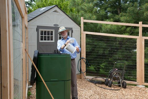 "Compost is called ""liquid gold,"" the best fertilizer there is!"